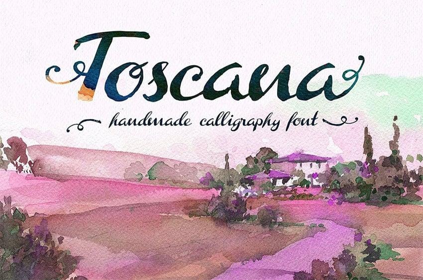 Toscana Font TTF