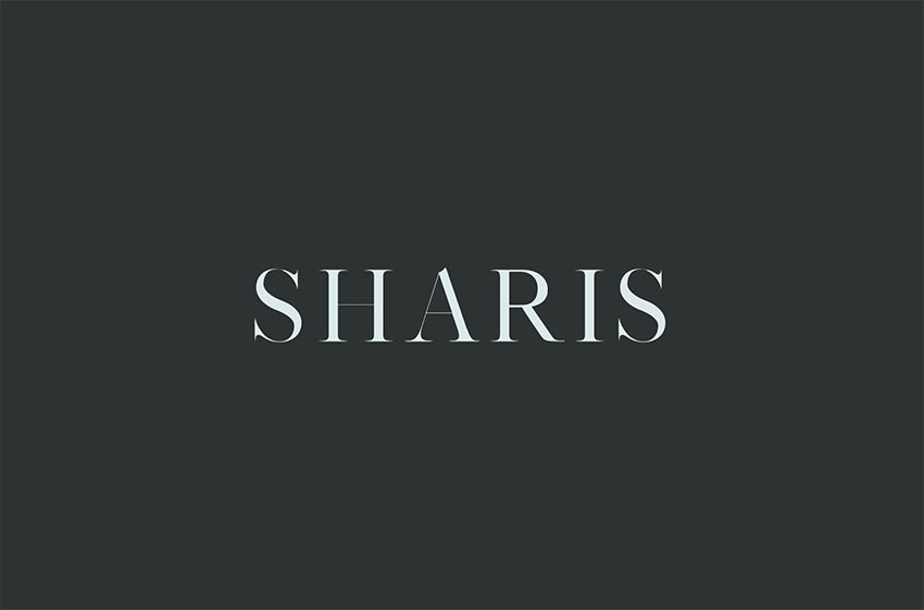 Sharis Serif 7 Font Family Pack