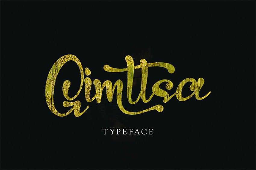 Gimstta - Best Swash Font