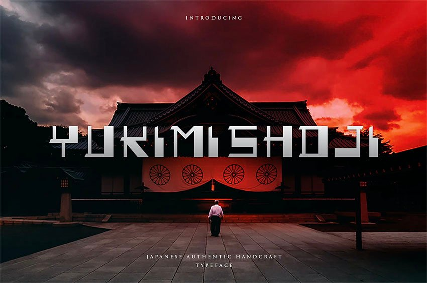 Yukimi Shoji - Best Japanese Style Fonts