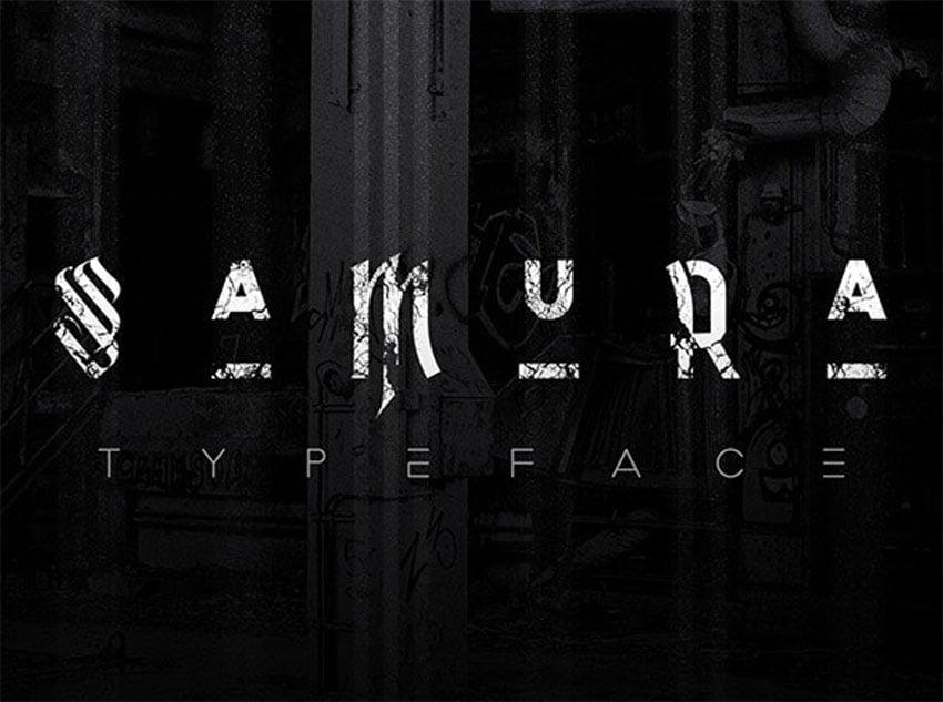 Samura Typeface