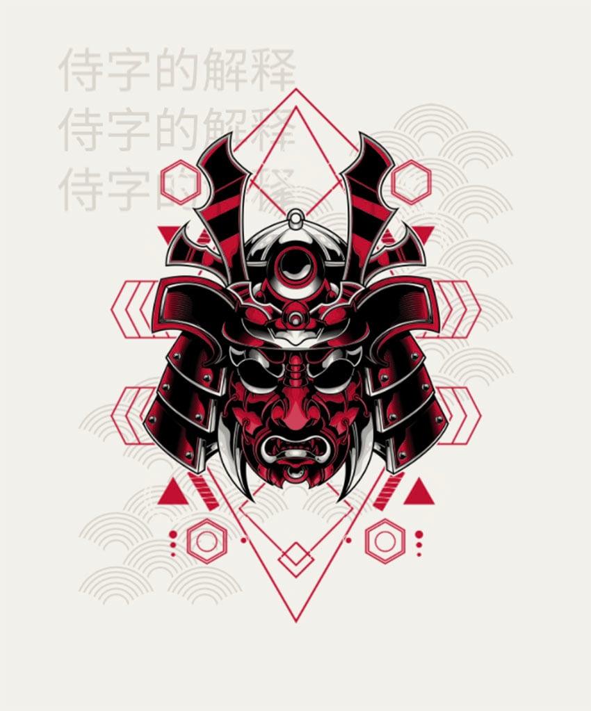 T-Shirt Design Creator Featuring Japanese Illustration Art