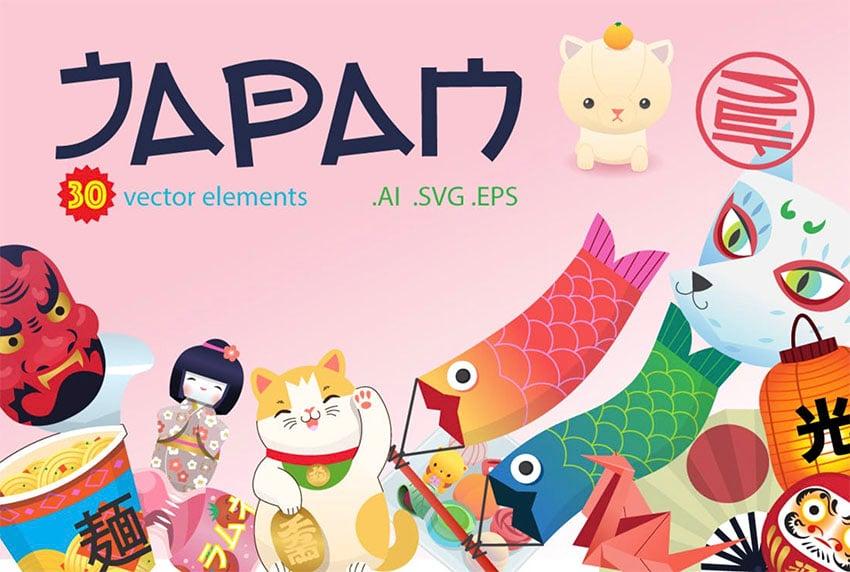 Inspiration We Love Japan Japanese Themed Illustration