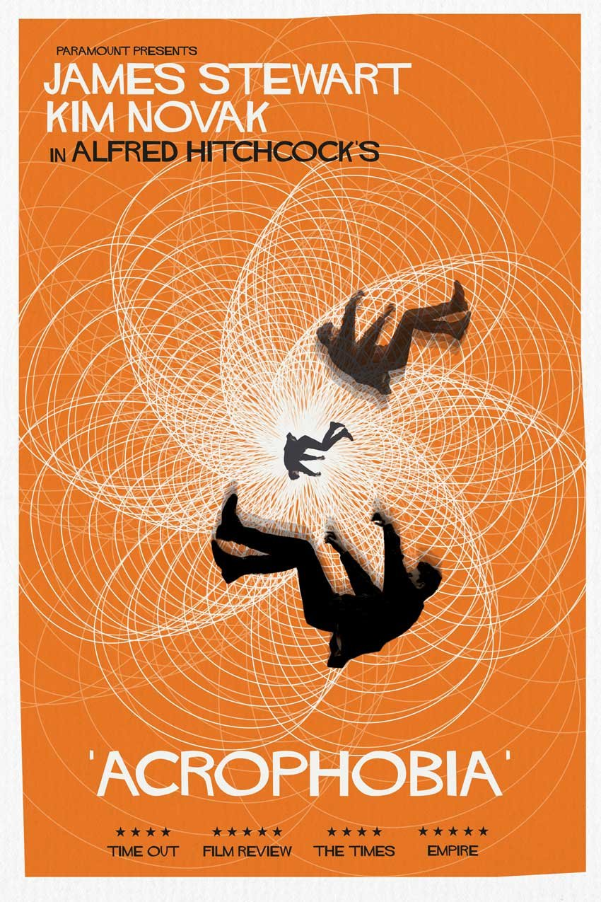 How to Create a Tribute Poster to the Hitchcock Classic Vertigo in Adobe InDesign