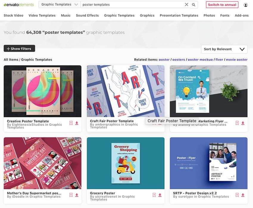 Unlimited Poster Design Ideas Downloads at Envato Elements