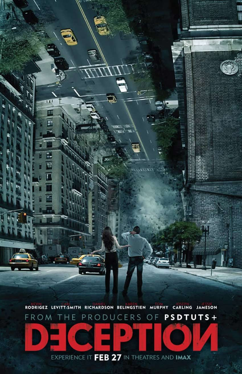Create an Inception Inspired Movie Poster