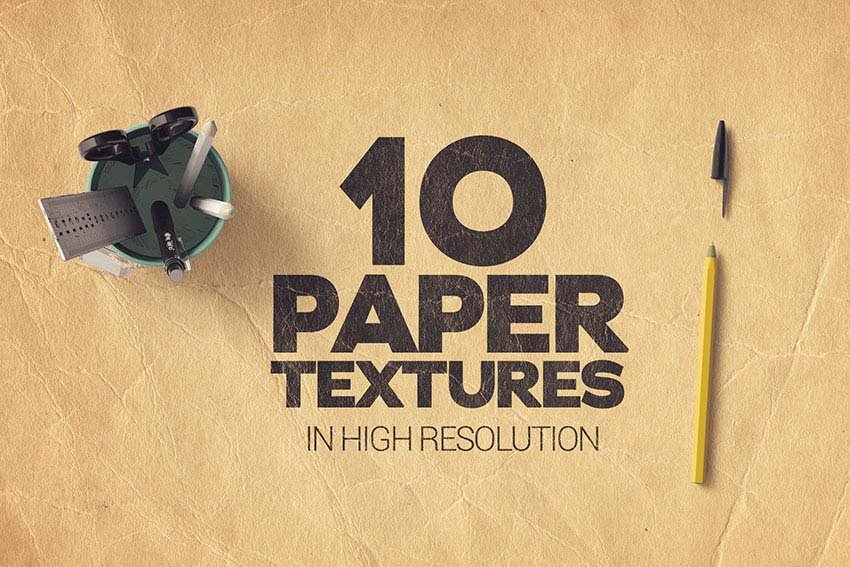 Creased Paper Textures