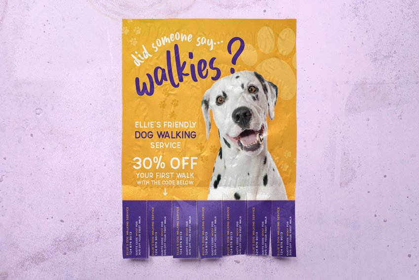 How to Make a Tear-Off Flyer Template in Affinity Publisher