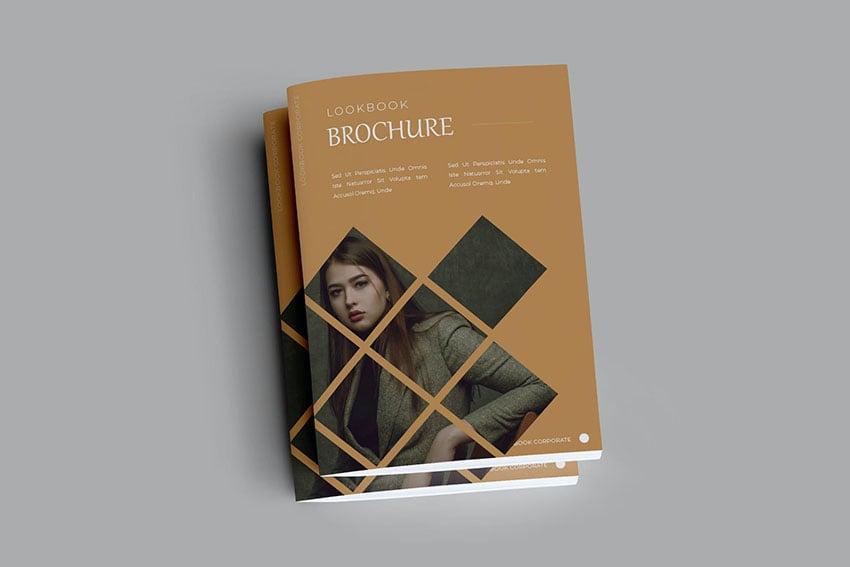 Lookbook Photoshop Brochure Template