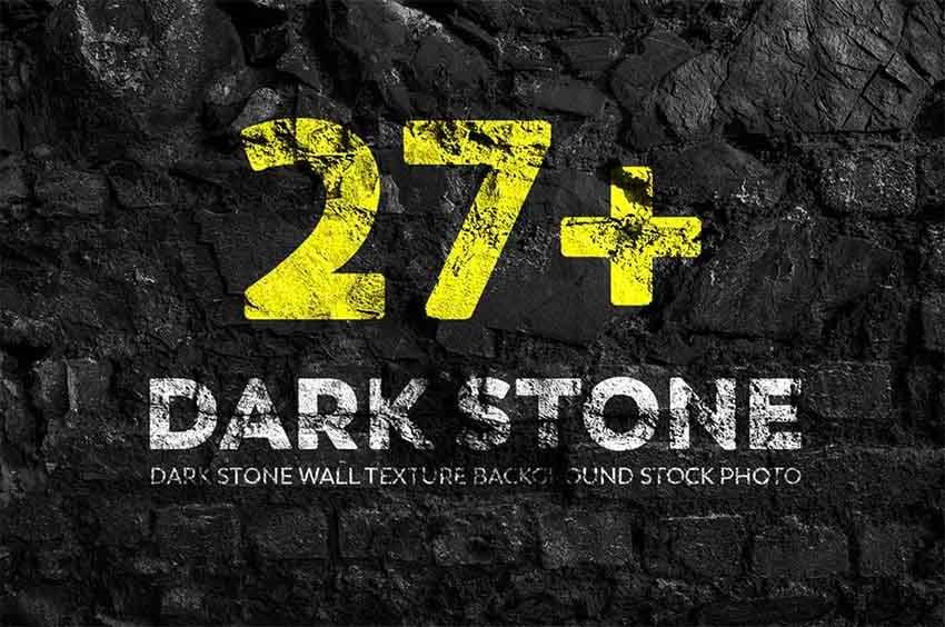 Dark Stone Texture Photoshop