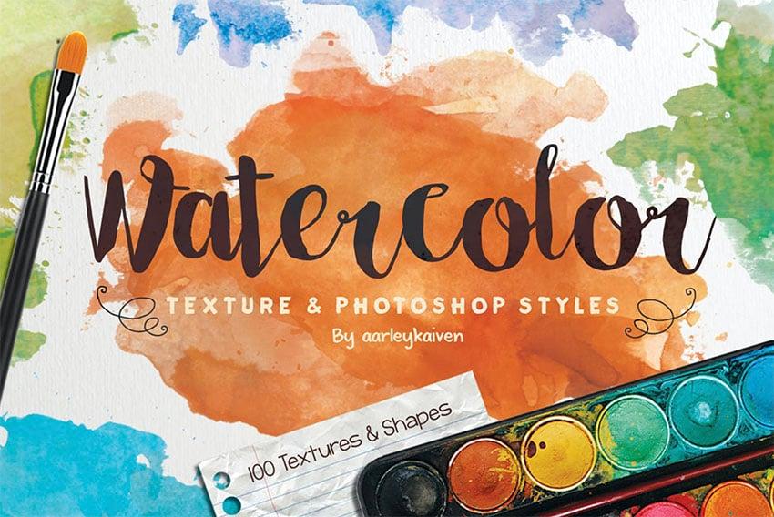 Watercolor Texture Photoshop