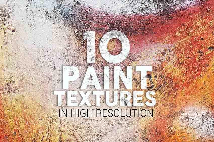 Paint Texture Photoshop