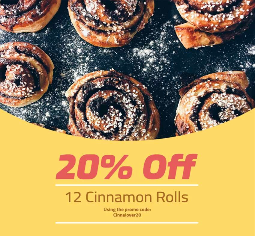 Make a Coupon for Your Bakery