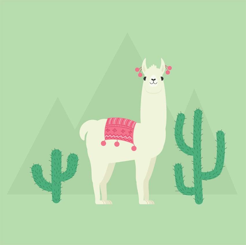 How to Create a Llama Illustration in Adobe Illustrator