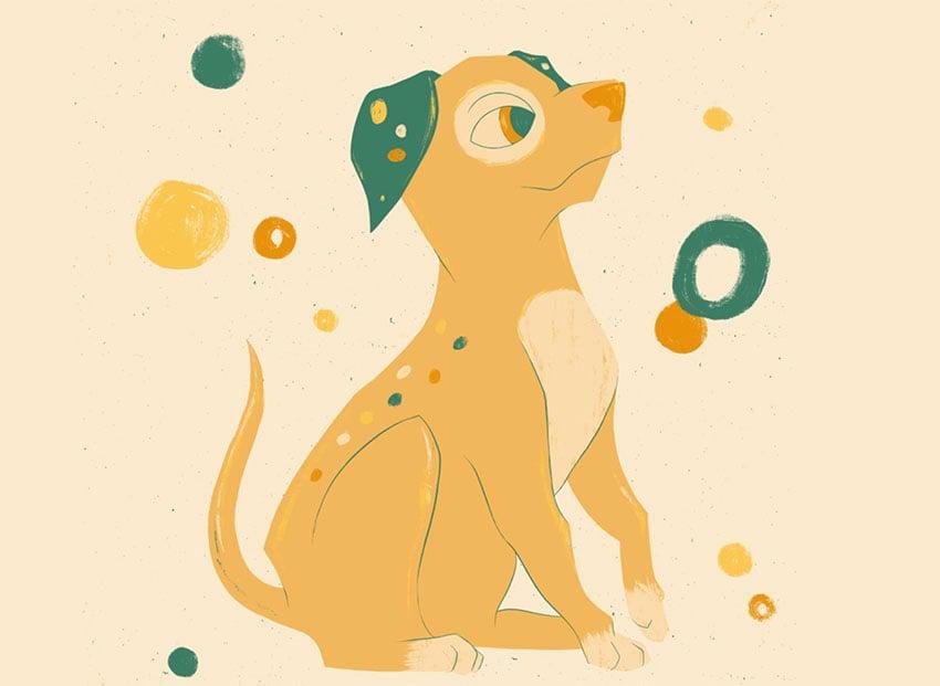 Festive Puppy Dog