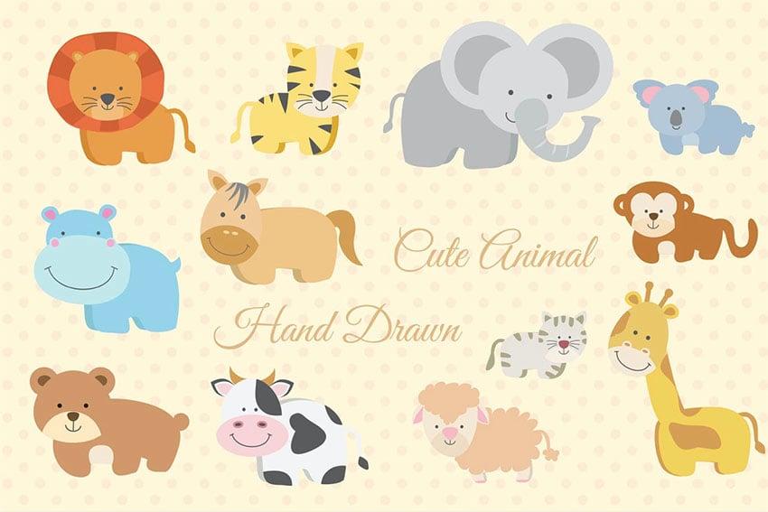 Cute Animal Illustrations