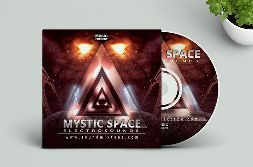 Music Cover Template (PSD)