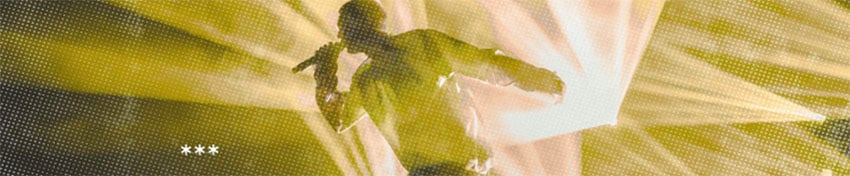 SoundCloud Banner Template Featuring a Cool Grunge Filter