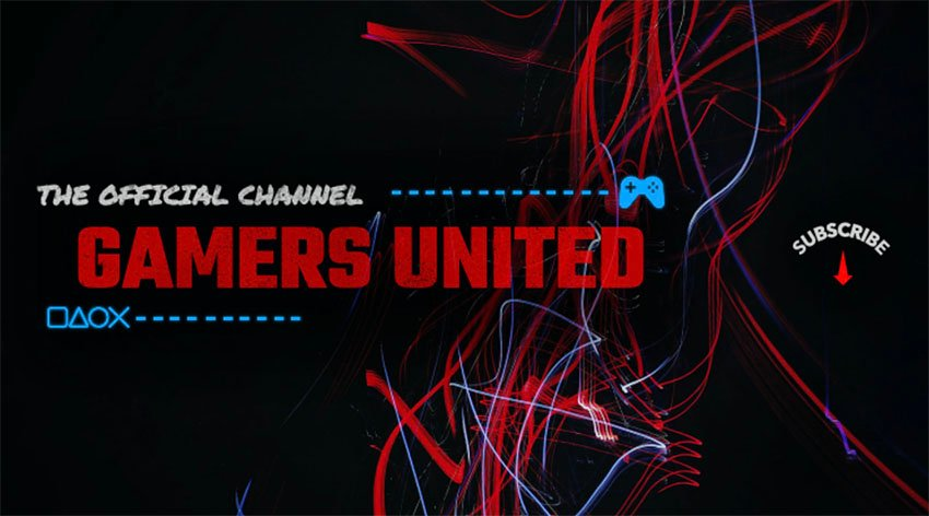 YouTube Gaming Banner Maker for Gaming Channels