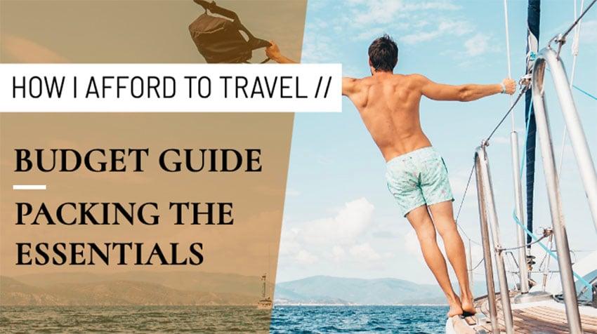 YouTube Thumbnail Design Maker for a Travel Vlogger