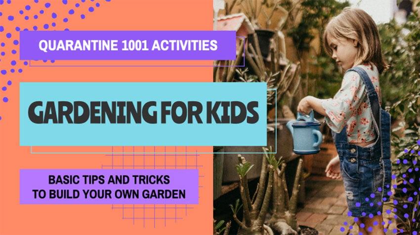 YouTube Gardening For Kids