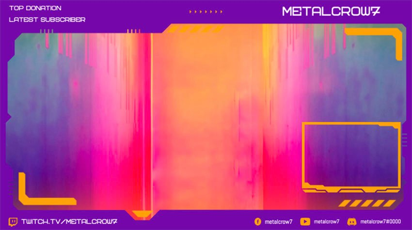 Webcam Border for Twitch