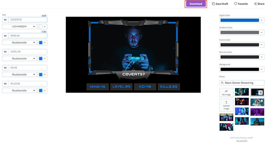 Download Your Twitch Webcam Overlay PNG
