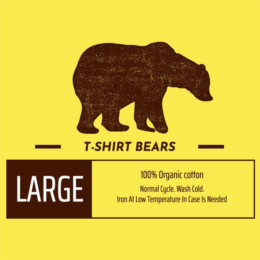 Custom T-shirt Label Design Template