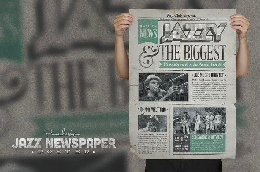 Vintage Newspaper Template