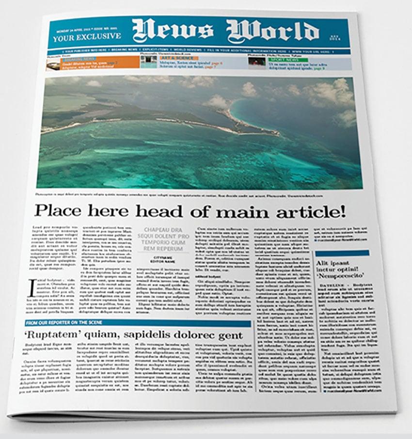 Newspaper Template (INDD)