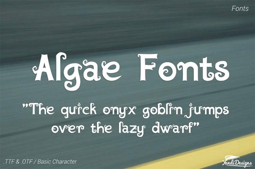 Fantasy Book Fonts