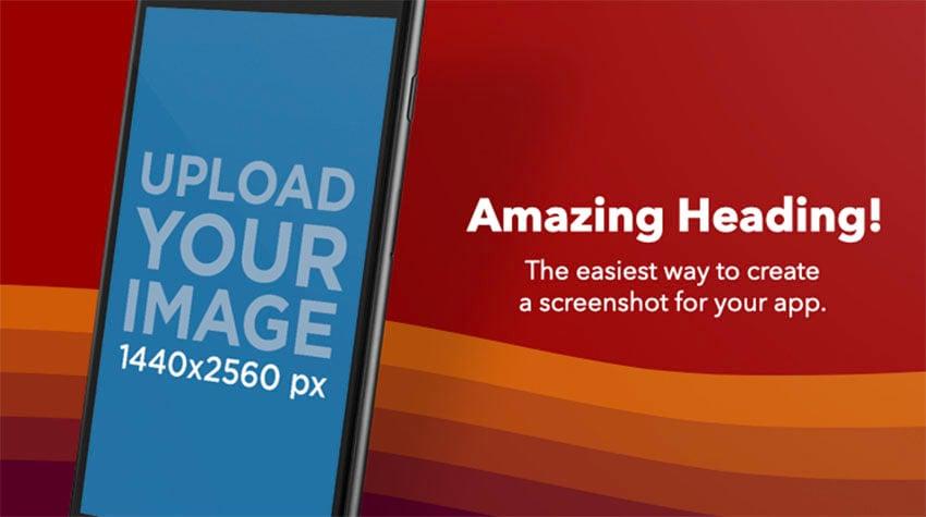 App Store Screenshot Template