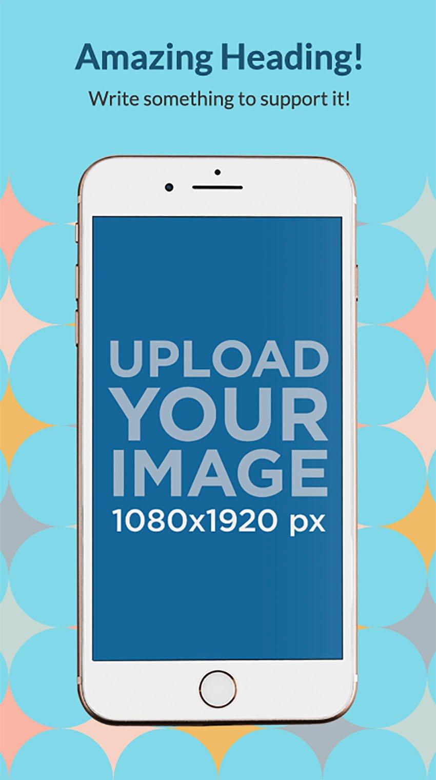 iPhone 8 App Store Screenshot