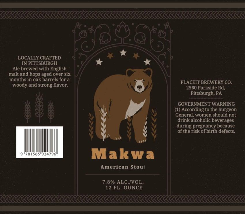 Stout Beer Bottle Label Maker