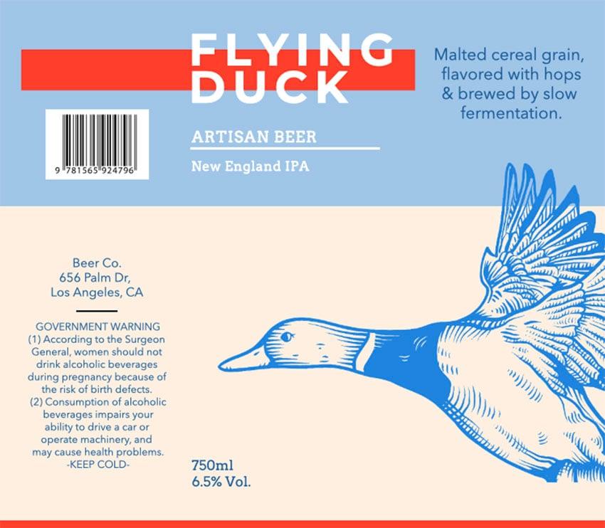 Artisan Beer Bottle Labels