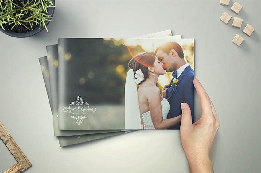 Wedding Adobe Program Booklet