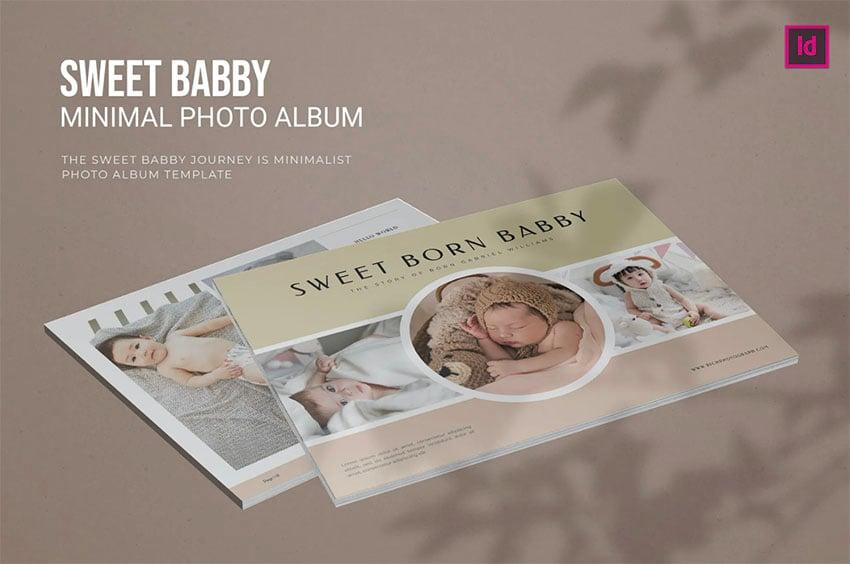 Baby Photobook Template