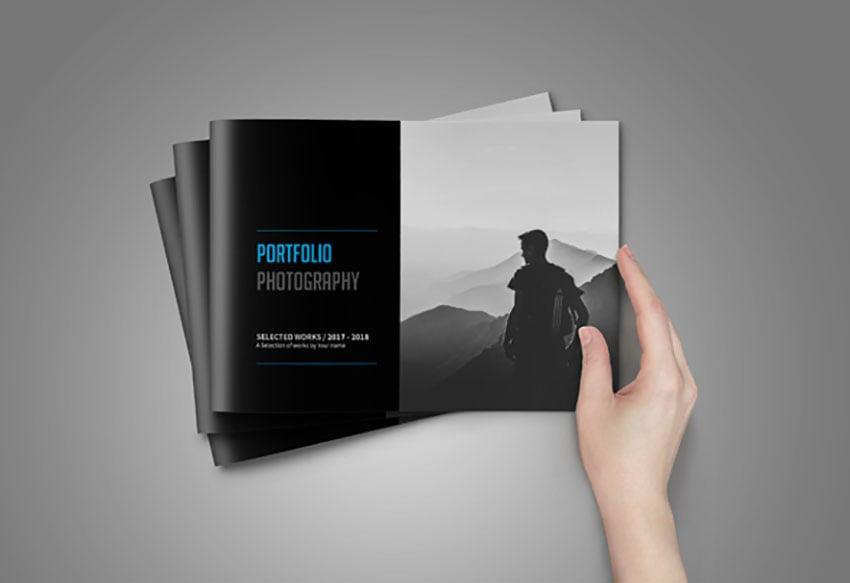 A5 Portfolio Photography Template