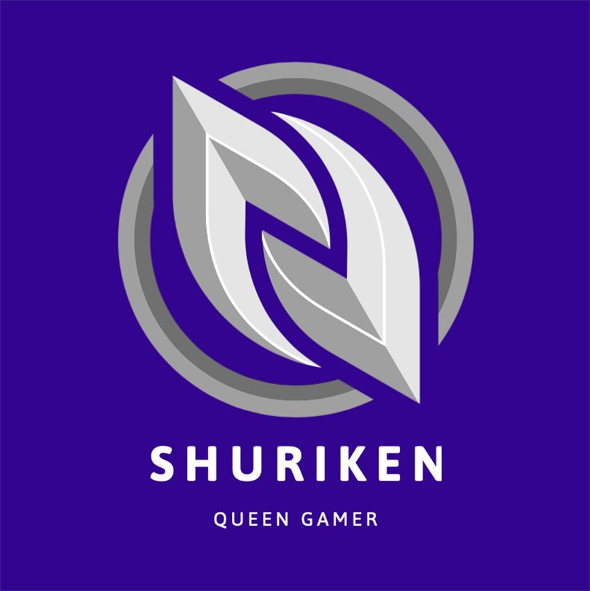 Emblem Logo Maker for Female Professional Gamers