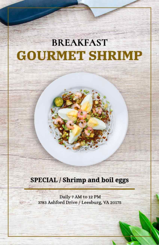 Restaurant Specials Flyer