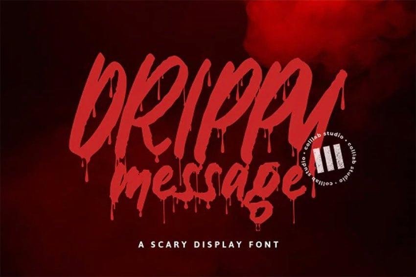 Creepy Script Font