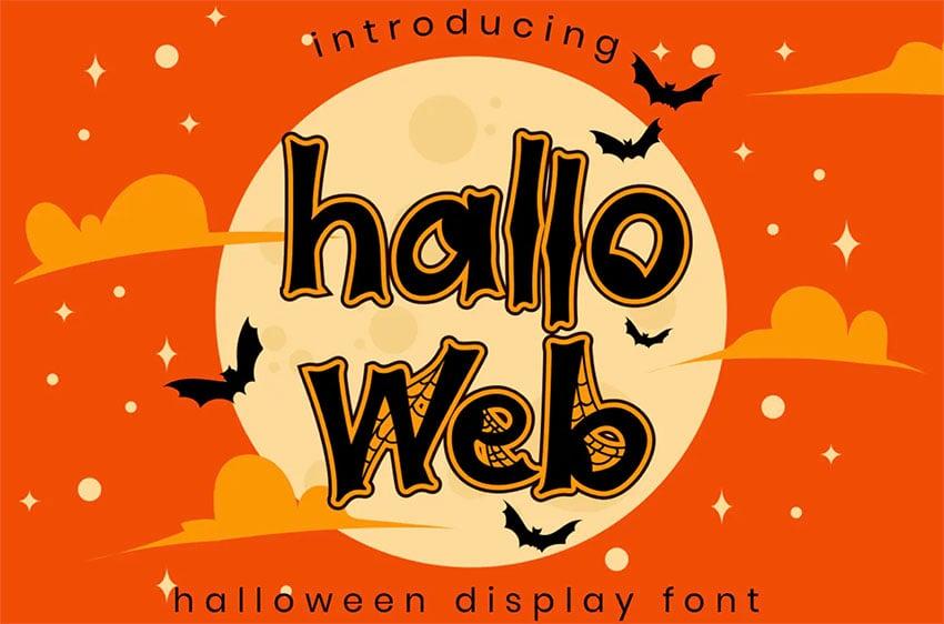 Happy Halloween Font