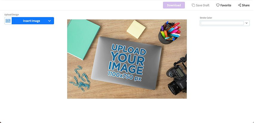 Select a Sticker Mockup
