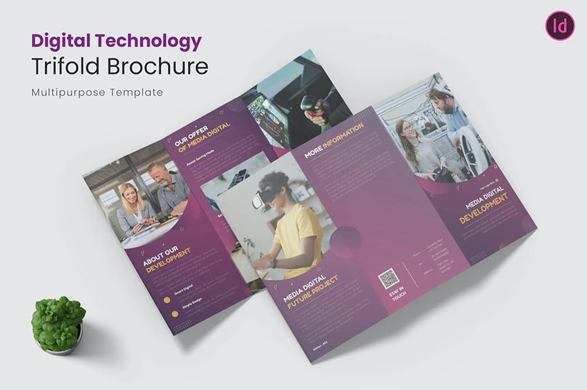 Digital Brochure Templates