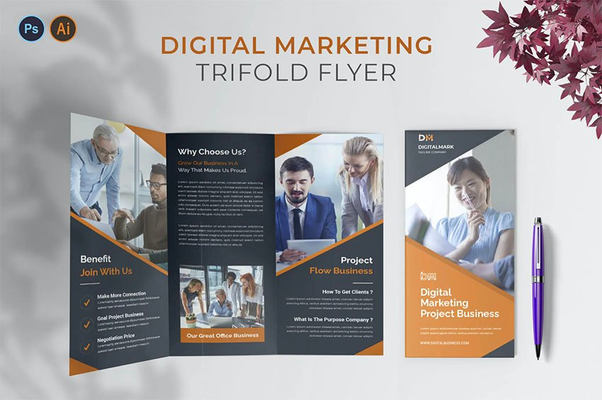 Digital Tri-fold Brochure