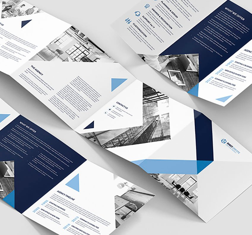 Digital Brochure Format