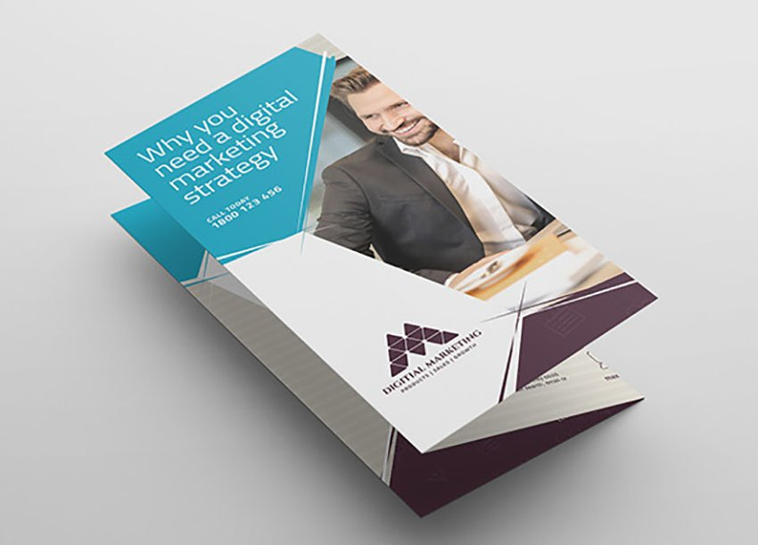 Digital Tri-Fold Brochure Template