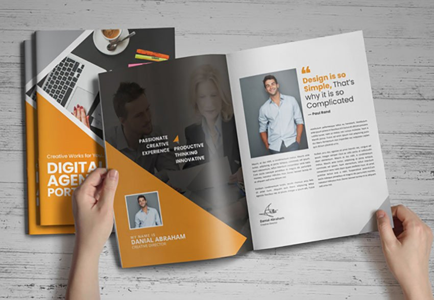 Digital Agency Portfolio Brochure