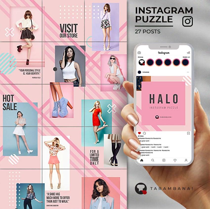 Halo - New Instagram Layout