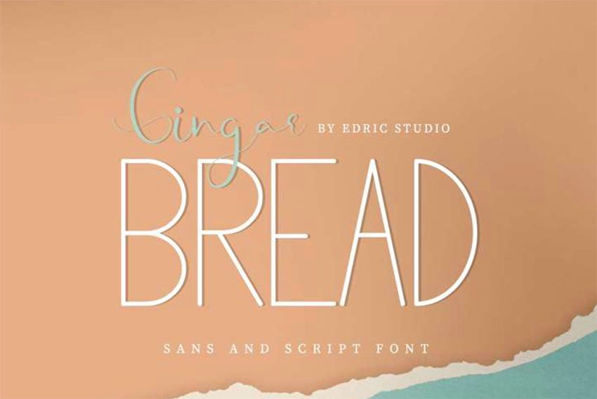Gingar Bread Free Sans Serif Font
